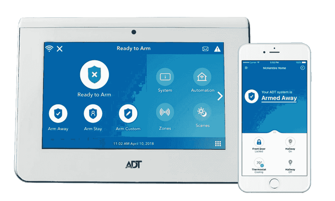 "ADT Command AIO 7"" Touchscreen with ADT Control Mobile App"