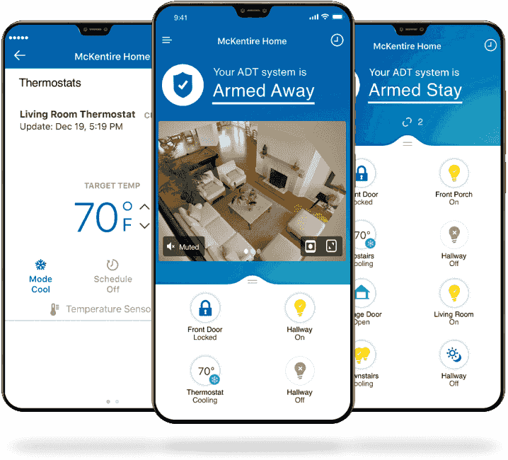 ADT Control App is the Best Smart Home Mobile App for Mobile Devices with Remote Interactive Service