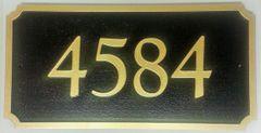 Address Plaque 8 X 16 PVC RECTANGLE