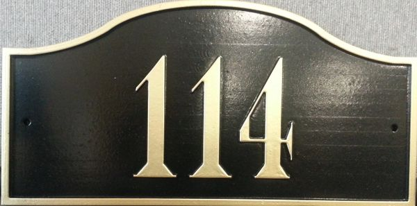 Address Plaque 7.5X15 PVC PALENCIA