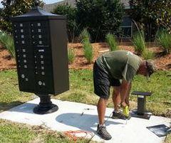 Community Mailbox Installation per CBU