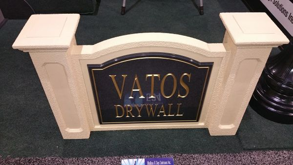 Custom Signs- Mini Monument