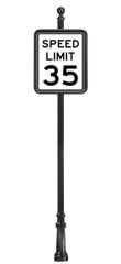 STREET SIGNS-(11) 24X30 SPEED LIMIT