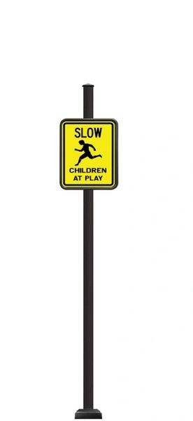 STREET SIGNS-(SQ) 12X18 CHILDREN AT PLAY