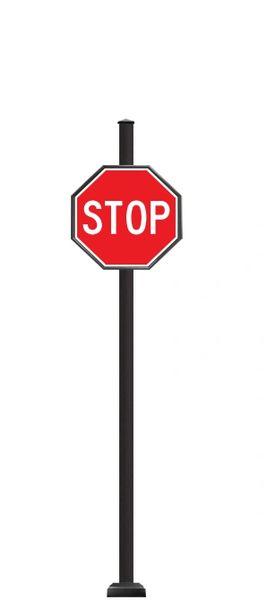 STREET SIGNS-(SQ) 30X30 STOP