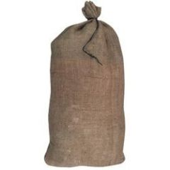 Filled Burlap Bag - SE-30 Fill, Dumped