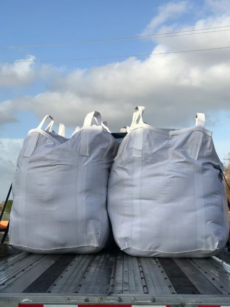 Filled Poly Gravel Bags (4000 HR/UV) - #5 Rock, Bulk/Super Sack