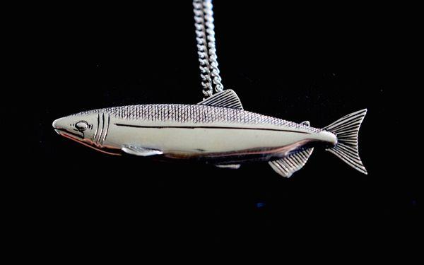 Salmon Pendant Large