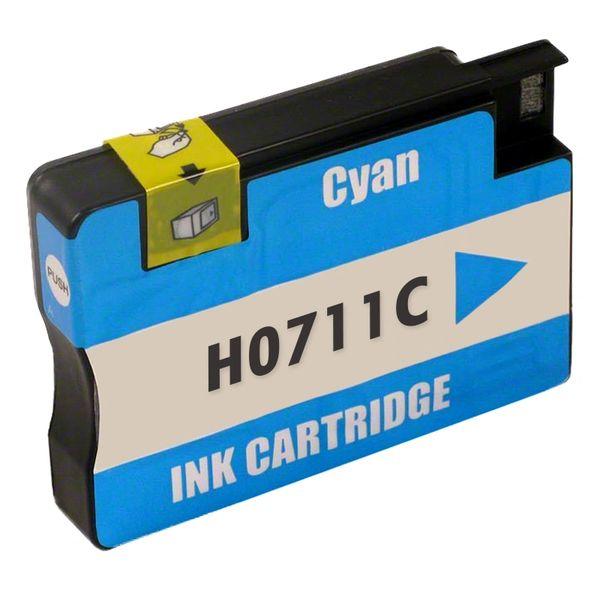 "Dubaria 711 Cyan Ink Cartridge Repalcement For HP 711 Cyan Ink Cartridge For Use In DesignJet T120 24"" ePrinter, DesignJet T520 24"", ePrinter DesignJet T520 36"" ePrinter"