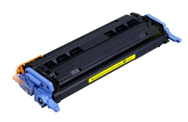 Dubaria 6002A Compatible For HP Q6002A Yellow Toner Cartridge / HP 124A Yellow Toner Cartridge For 1600, 2600, 2605, Cm1015, Cm1017