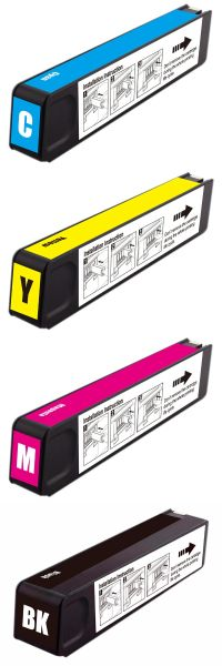 Dubaria 980 Ink Cartridges Replacement For HP 980 Ink Cartridges For Use In HP X555dn, X555xh, X585dn, X585f, X585z Printers