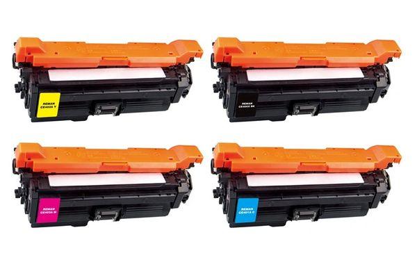 Dubaria 507A Toner Cartridge Bundle Combo Compatible For HP 507A - CE400A, CE401A, CE402A, CE403A Color LaserJet M551xh / M551n / M551dn / M575f / M575dn Printers