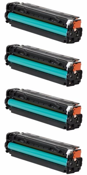Dubaria 201A Toner Cartridge Replacement For HP 201A - CF400A, CF401A, CF402A, CF403A Toner Cartridges Combo Value Pack For Use In HP Color LaserJet Pro M252, M252dw, M252n, M277, M277dw MFP, M277n MFP