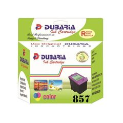 Dubaria 857 Tricolour Ink Cartridge For HP 857 Tricolour Ink Cartridge