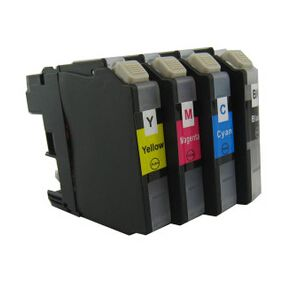 Dubaria J 3520 Ink Cartridges Compatible For Brother LC583, LC585, LC587 For Use In MFC J2510, J3520 Printers