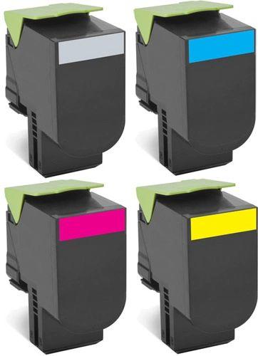 Dubaria Compatible Toner Cartridges Replacement For Lexmark CS310, CS410, CS510 Printers - Combo Value Pack