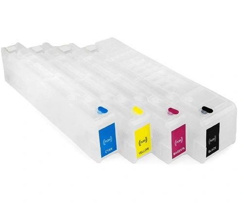 Dubaria 975 Empty Refillable Ink Cartridges Replacement For HP 975 Ink Cartridges For Use In Pro 452dw, 552dw, 477dw, 557dw, 577z Printers - Combo Value Pack