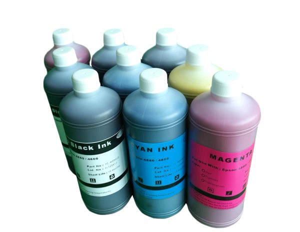 Dubaria Refill Ink For Use In HP Z 2100 Printers Compatible With HP 70 All 8 Colors - Cyan, Magenta, Yellow, Matt Black, Photo Black, Light Cyan, Light Magenta, Light Gray - 100 ML Each Bottle