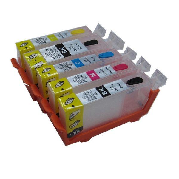 Dubaria Empty Refillable Cartridge For Canon PGI-225, CLI-226 For Use In Canon Pixma MG5320, MG5220, MX882, IX6520, IP4920, IP4820 Printers