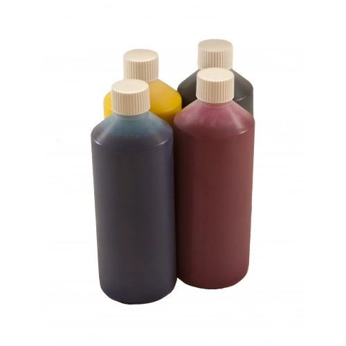 Dubaria Refill Ink For Brother J 3520 / 3720 Printers Compatible With Brother LC 589 / 583 - Cyan, Magenta, Yellow & Black - 1 Liter Bottle
