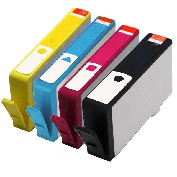 Dubaria 862 Ink Cartridge For Use In HP Photosmart 5510, 6510, 7510, C5388, C6388, B110a, B209a, 210a, C309a, C410d new, C309g, C310a Printers - Cyan, Magenta, Yellow & Black