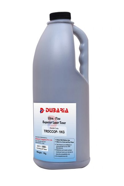 Dubaria Copier Toner Power for Canon iR imageRUNNER 5000 / 5070 / 5570 / 6000 / 6570 (GPR-17) 1 KG Botle