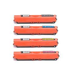 Dubaria 126A Toner Cartridge Bundle Combo Compatible For HP 126A - CE310A, CE311A, CE312A, CE313A Color LaserJet Pro 100 MFP M175nw / CP 1025nw / TopShot LaserJet Pro M275 MFP