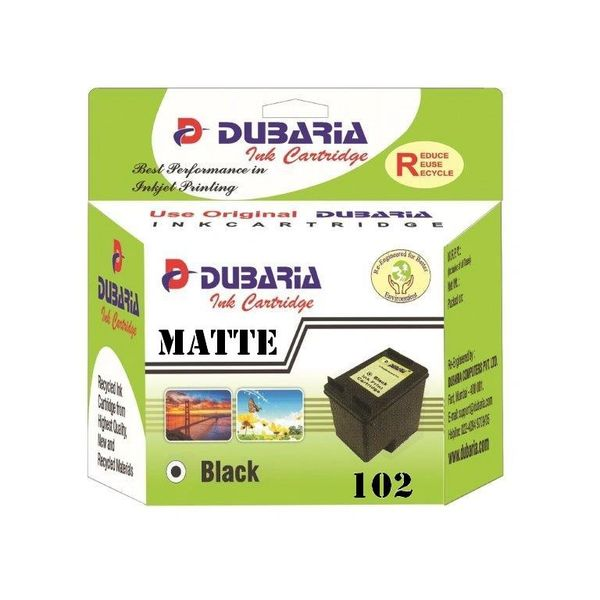 Dubaria 102 Matte Black Ink Cartridge For Canon 102 Matte Black Ink Cartridge