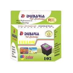 Dubaria 102 Yellow Ink Cartridge For Canon 102 Yellow Ink Cartridge