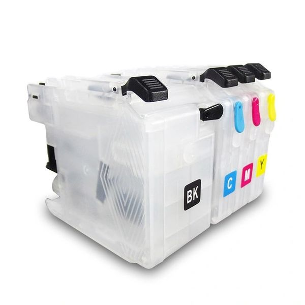 Dubaria Empty Refillable Cartridge For Brother J100 / J105 / J200 Printers Compatible With Brother LC 535 / 539 - OEM Size