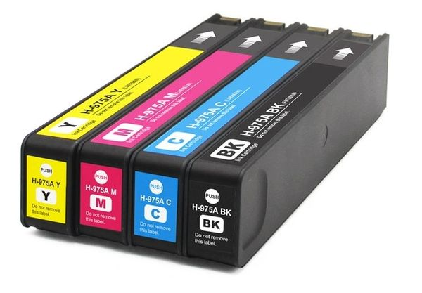 Dubaria 975 Ink Cartridges Replacement For HP 975 Ink Cartridges For Use In HP PageWide 352dw / 377dw / 377dn / 452dw / 452dn / 477dn / 477dw / 552dw / 577z / 577dw, HP PageWide Managed P55250dw / P57750dw Printers