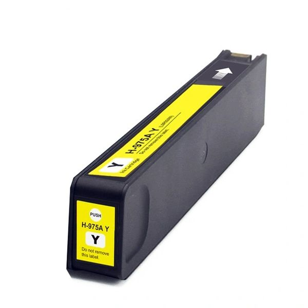 Dubaria 975 Yellow Ink Cartridge Replacement For HP 975 Yellow Ink Cartridges For Use In HP PageWide 352dw / 377dw / 377dn / 452dw / 452dn / 477dn / 477dw / 552dw / 577z / 577dw, HP PageWide Managed P55250dw / P57750dw Printers