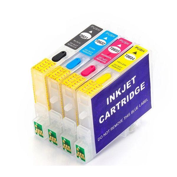 Dubaria Empty Refillable Ink Cartridge Compatible For Epson STYLUS C67, C87, C87PE, CX4100, CX4700, CX3700 Printers