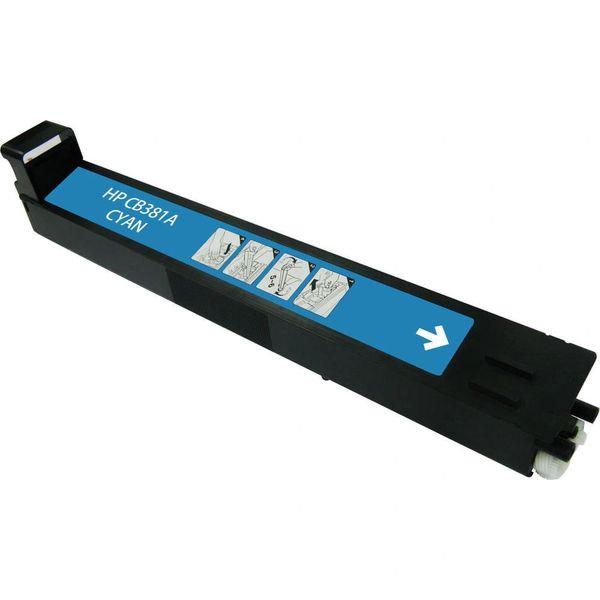 Dubaria CB381A Toner Cartridge Compatible For CB381A Cyan Toner Cartridge For Use In HP Color LaserJet 4025/4525/5220 Color Series Printers
