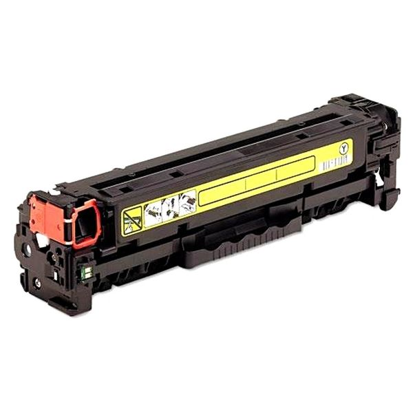 Dubaria CF382A Toner Cartridge Compatible For CF382A Yellow Toner Cartridge For Use In HP Color LaserJet Pro M476dn MFP / M476dw MFP / M476nw MFP Printers