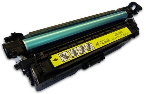 Dubaria Toner Cartridge Compatible For CE402A Yellow Toner Cartridge Use In HP Laserjet Enterprise 500 Color M551n / M551dn / M551xh / MFPM575dn / M575fw Printers