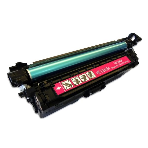 Dubaria CE403A Toner Cartridge Compatible For CE403A Magenta Toner Cartridge Use In HP Laserjet Enterprise 500 Color M551n / M551dn / M551xh / MFPM575dn / M575fw Printers