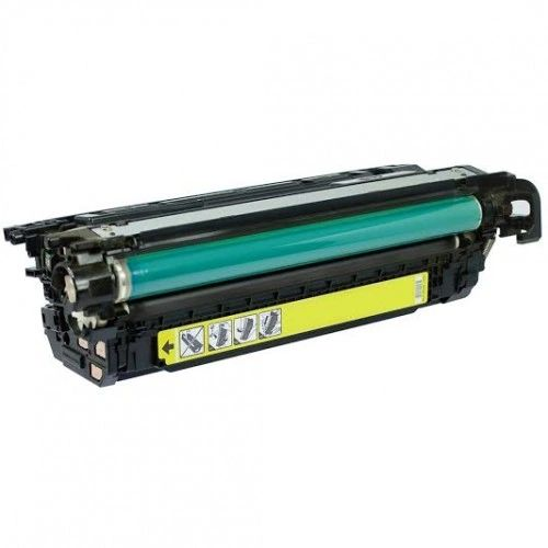 Dubaria CE262A Toner Cartridge Compatible For Yellow Toner Cartridge Use In HP Color laserJet CP4025 / CP4025n /CP4025dn / CP4525n / CP4525dn / CP4525xh Printers