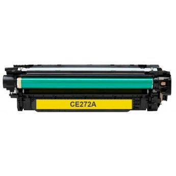 Dubaria CE272A Toner Cartridge Compatible For CE272A Yellow Toner Cartridge Use In HP CP5520/ 5525n / 5525dn / 5525xh Printers
