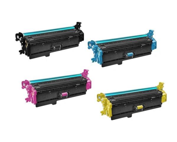 Dubaria CF360X Toner Cartridge Combo Bundle Compatible For HP CF360X Toner Cartridge For Use In HP Color LaserJet M552dn /M553n/ M553dn /M553x/ MFP M577dn /M577f /M577c /M577z Printers - Black , Cyan & Magenta ,Yellow -Combo Pack