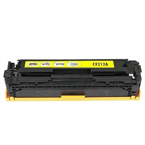 Dubaria CF212A Toner Cartridge Compatible For HP CF212A Yellow Toner Cartridge For Use In HP LaserJet CP1213 / CP1214 / CP1215 / CP1216 / CP1217 / CP1513n / CP1514n / CP1515n / CP1516n / CP1517ni / CP1518ni / CP1519ni Printers