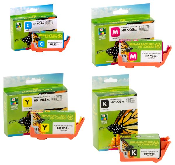 Static Control Compatible Ink Cartridges For HP 905 XL Ink Cartridge For Use In HP Pro 6950, 6956, 6960, 6970 Printers