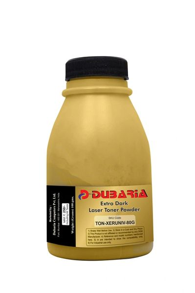 Dubaria Toner Powder For Kyocera TK-1114 Toner Cartridge For Use In Kyocera Ecosys FS-1020MFP, FS-1025MFP, FS-1040, FS-1060DN, FS-1120MFP, FS-1125MFP Printers - 80 Grams