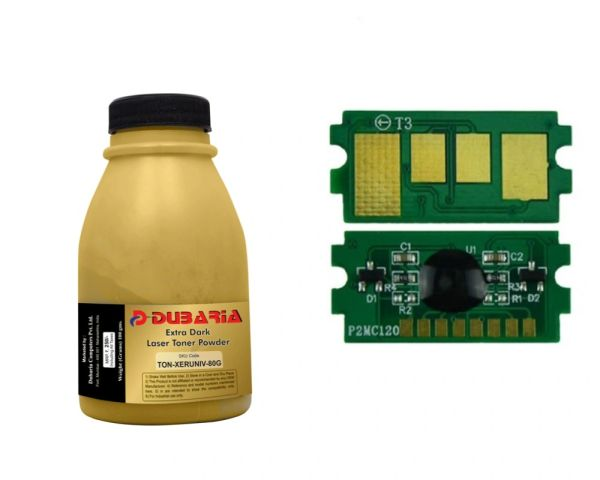 Dubaria Toner Powder For Kyocera TK-4109 Toner Cartridge For Use In Kyocera Taskalfa 1800, 1801, 2200, 2201 Printers - 100 Grams - Toner Reset Chip FREE