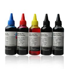 Dubaria Refill Ink For 770 Black, 771 Cyan, Magenta, Yellow & Black Ink Cartridge Compatible For Use In Canon PIXMA MG7770, PIXMA MG6870 & PIXMA MG5770 Printers - 100 ML Each Bottle