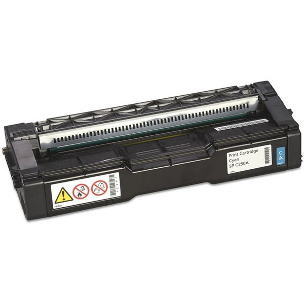 Dubaria C250 Toner Cartridge Compatible Ricoh C250 Cyan Toner Cartridge For Use In Ricoh SP C250DN, C250SF, SPC250SF, SPC250DN Printers