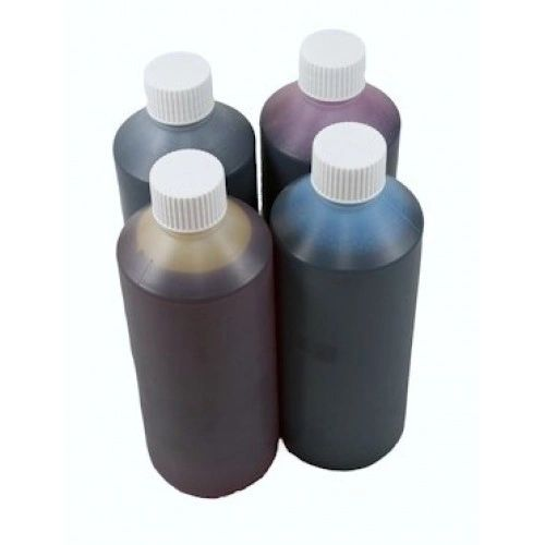 Dubaria Refill Ink For Use In HP T 120 / 520 / 920 Printers Compatible With HP 711 All Four Colored Ink Cartridges - 1000 ML Each Bottle