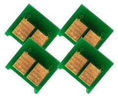 Dubaria Toner Reset Chip For Use In HP 130A - CF350A, CF351A, CF352A, CF353A - Combo