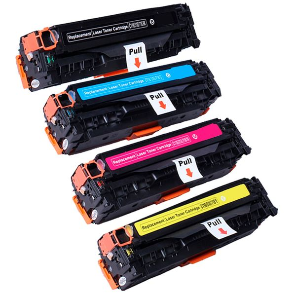 Dubaria 205A Color Toner Cartridge Compatible For HP 205A - CF530A / CF531A / CF532A / CF533A For Use In HP LaserJet Pro M154, M154nw, M180nw, 180n - Combo