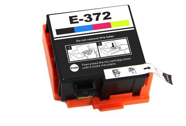 Dubaria 372 / T372 Ink Cartridge For Epson Use In PM 520 Printer - Black, Cyan, Magenta, Yellow